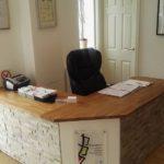 In-Health Chiropractic - Reception refurbished